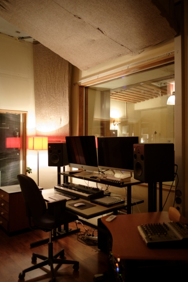 Studio B (Main control room)
