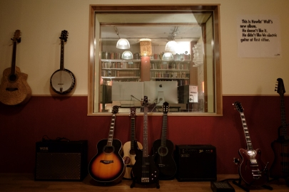 Studio B (Recording area)